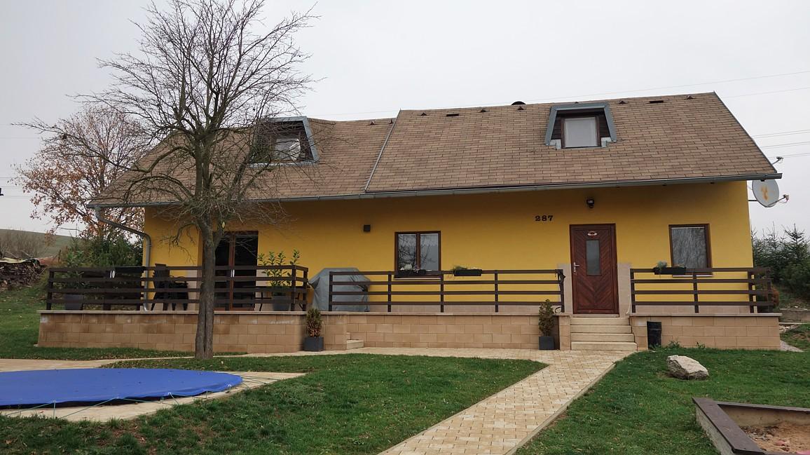 Rodinný dům v obci Rudoltice u Lanškrouna.