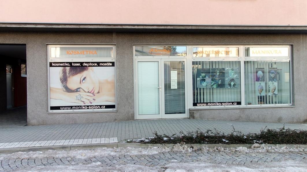 Komerční prostory na ul. T. G. Masaryka v Lanškrouně.